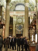 Reception at the Austrian National Library